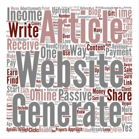 How to make money Article Writing